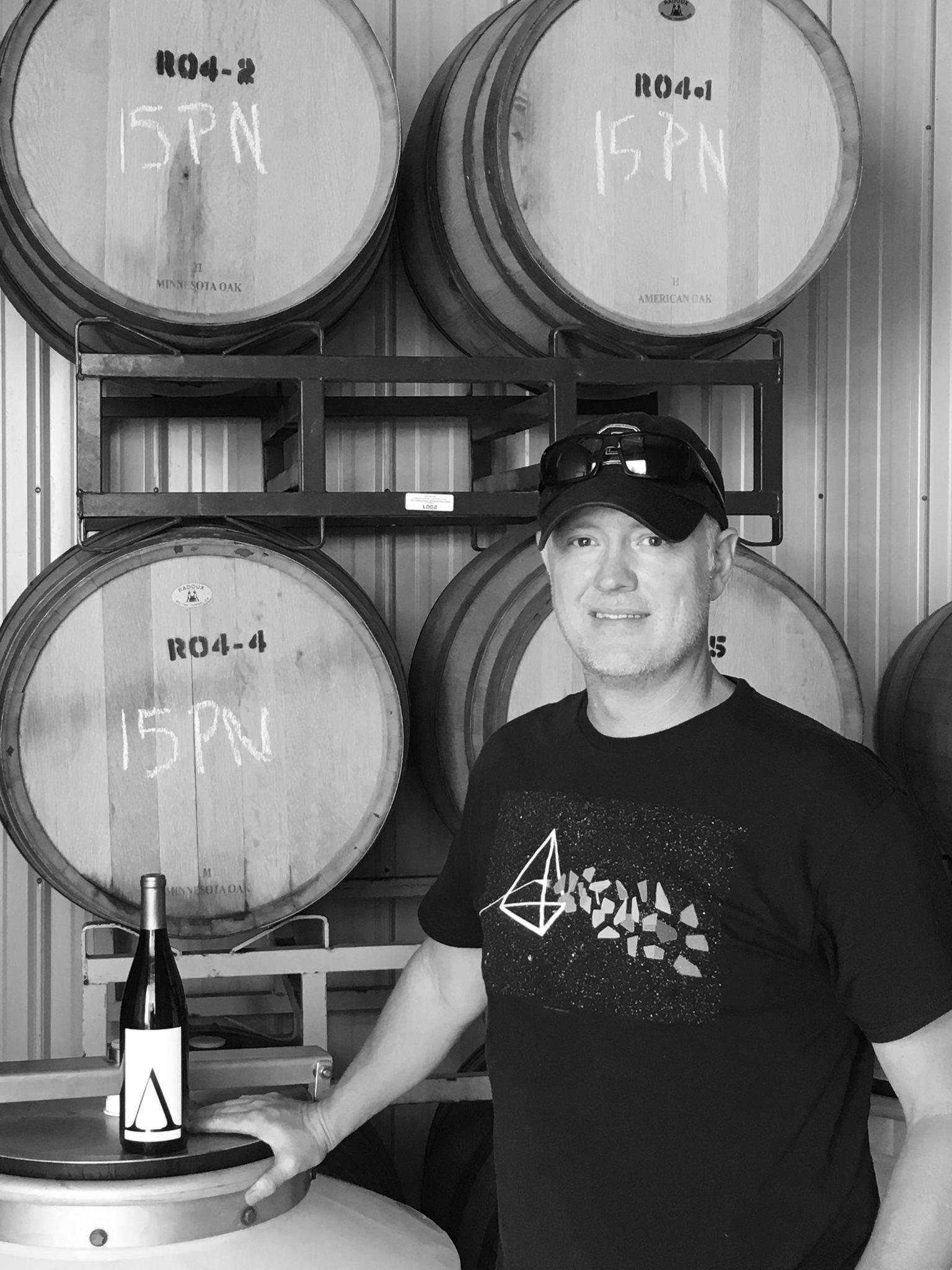 Bret Azura winemaker